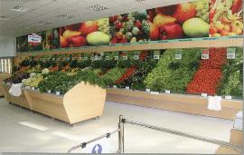 Стелажи за зеленчуци