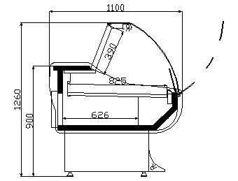 Хладилни витрини супермеркет - характеристика
