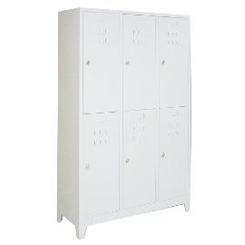 Шкаф за съблекалня с 6 врати